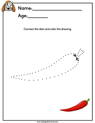 Connect The Dots Chilli Pepper