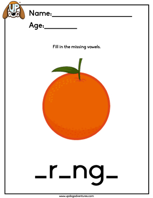 Orange Vowel