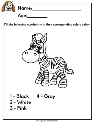 Color the Zebra
